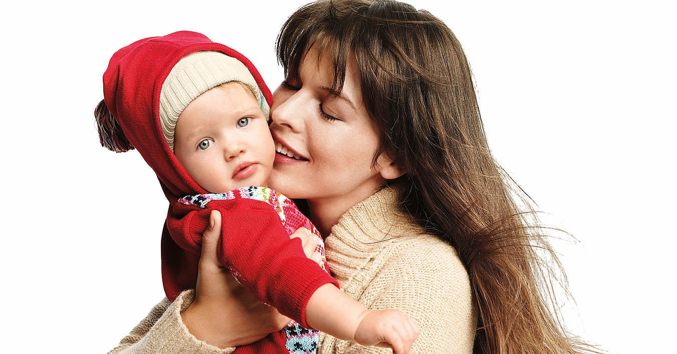 Milla Jovovich and her daughter Ever.
