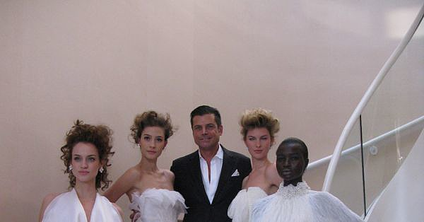New York Bridal Market: Douglas Hannant