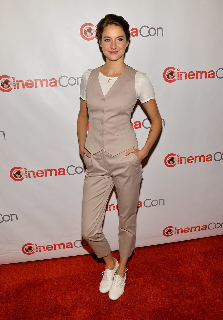 Shailene Woodley at CinemaCon