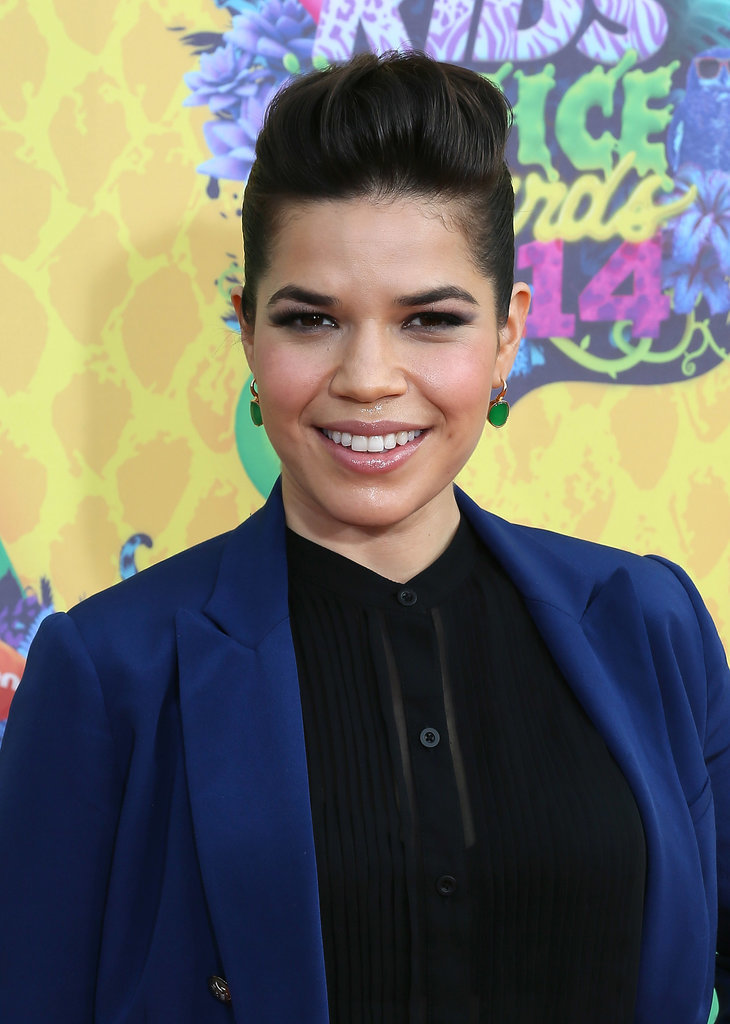 America Ferrera at the Kids' Choice Awards.