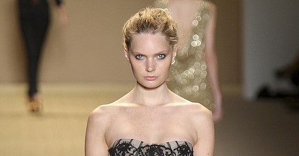 Monique Lhuillier Spring 2009 Runway