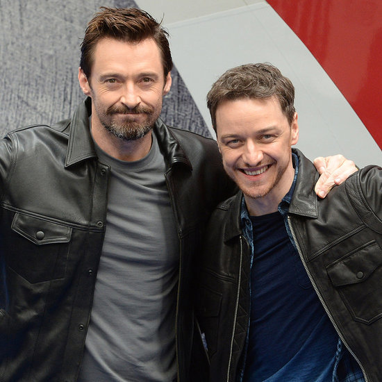 Hugh Jackman and James McAvoy Hang Out in London
