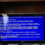 Install the blue screen of death screensaver.  Source: Instagram user everydayisagreenday