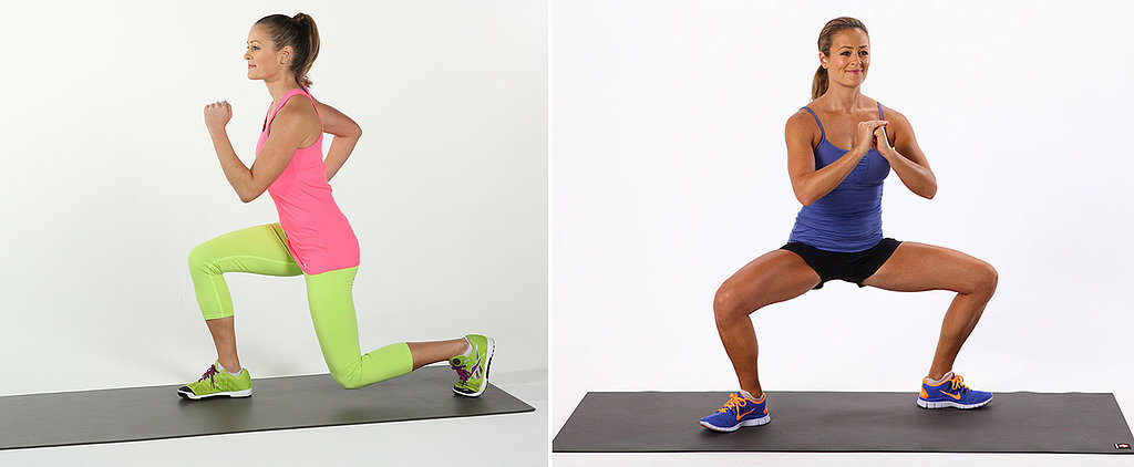 Work Your Tush and Clean Your Teeth: 2-Minute Leg Workout While Brushing