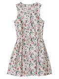Gap Floral Sateen Sleeveless Dress