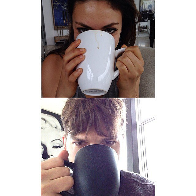And Their Virtual Morning Coffee Dates