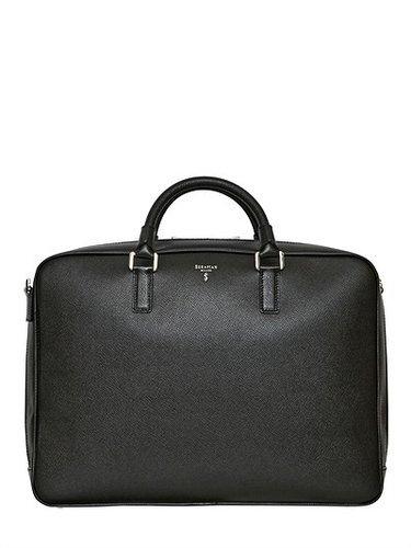 Serapian - Saffiano Leather Briefcase
