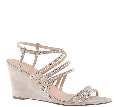 J.Crew Embellished Wedges