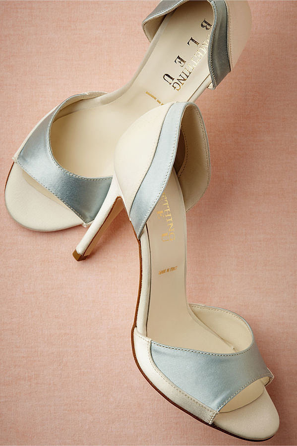 BHLDN Peep-Toe Pumps