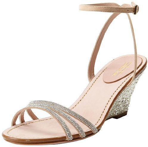 Sebastian Embellished Wedge Sandal