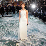 Emma Watson's White Ralph Lauren Gown at Noah UK Premiere