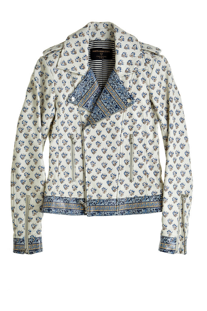 Martí + Dani Stahl for Calypso Block Printed Motorcycle Jacket