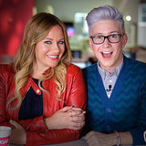 Top That! Tyler Oakley Reacts to His Birth
