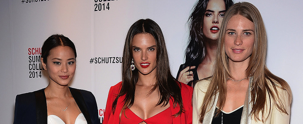 Alessandra Ambrosio Proves You're Nothing Without Your Crop Top — Today on POPSUGAR Live!