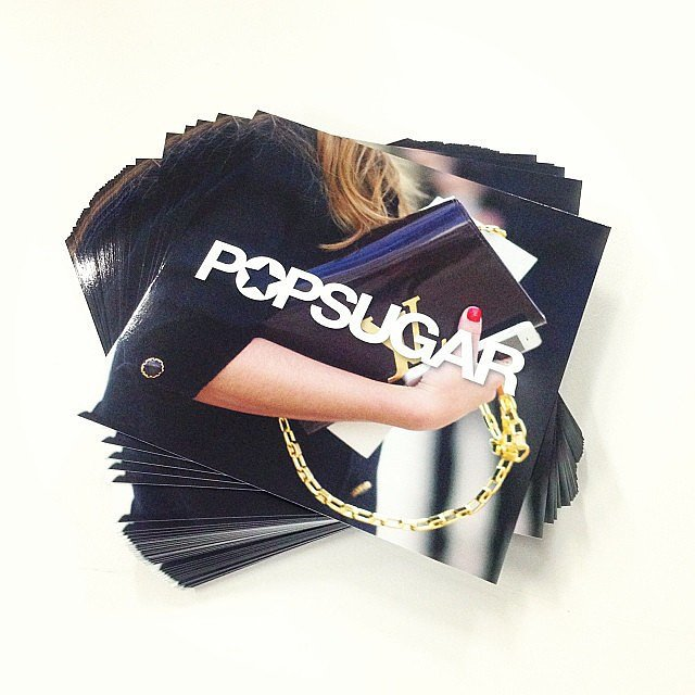 You like our new cards? We'll be placing these pretties around the place at Fashion Weekend next week — keep a lookout if you're attending!
