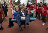 Prince Harry's Playground Antics Are Hilarious