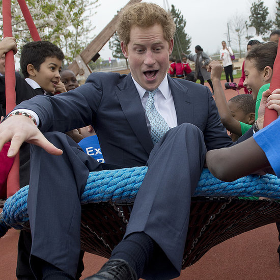 Prince Harry at Queen Elizabeth Park Playground | Pictures