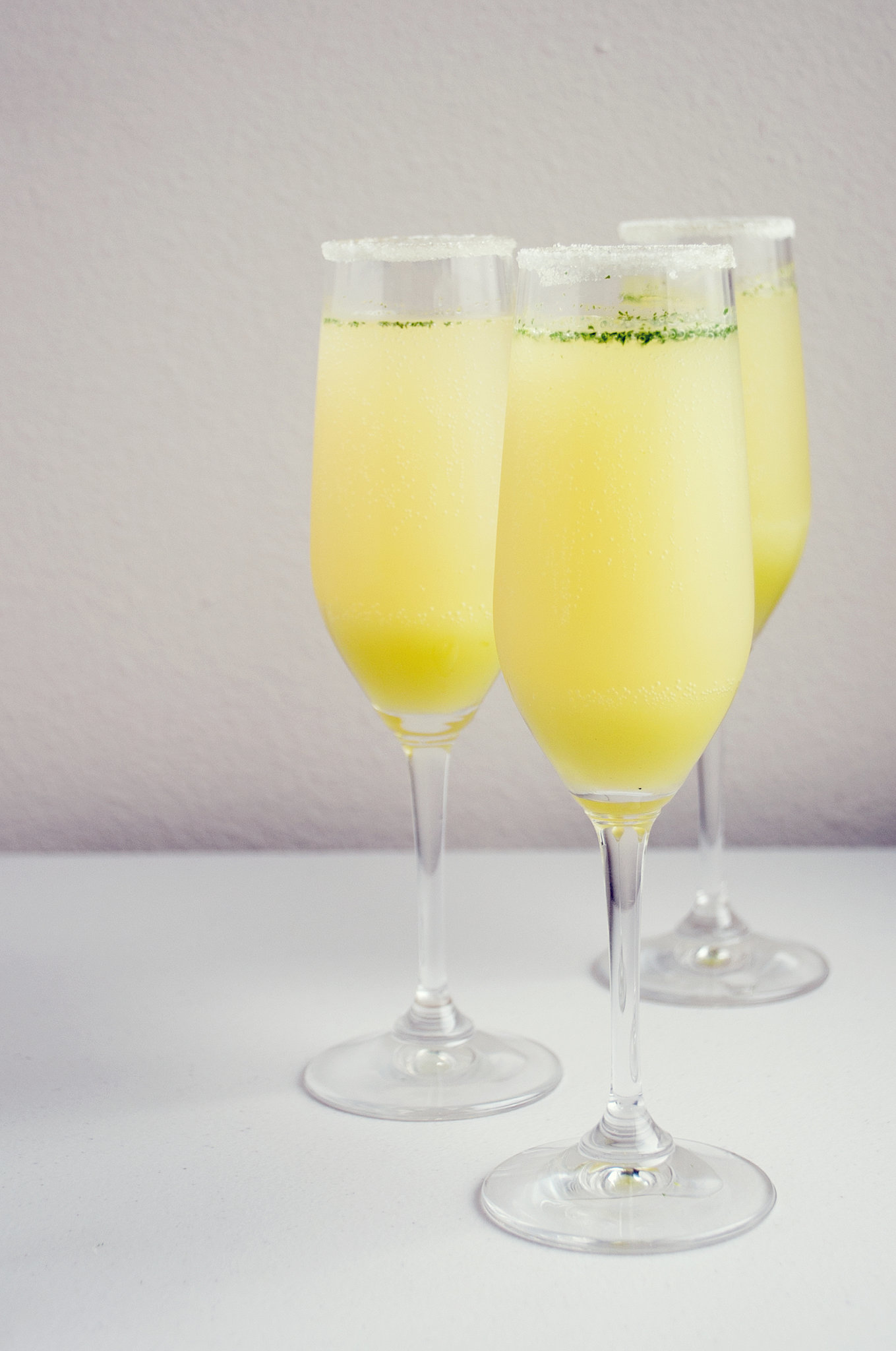 Champagne Mixed Drinks Of Limoncello Champagne Cocktail Recipe Popsugar Food