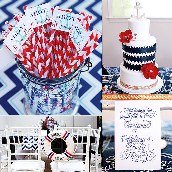 A Nautical Baby Shower
