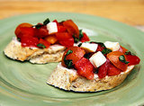 Roma, Red Pepper, and Sun Gold Bruschetta
