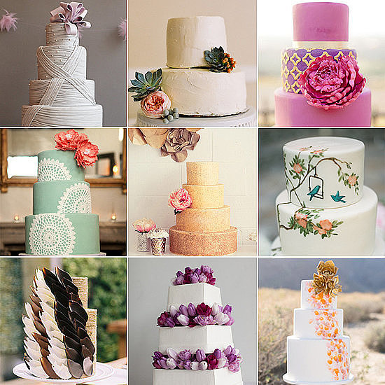 With so many wedding cake options available, where do you even start? It's totally normal to feel overwhelmed, which is why POPSUGAR Food has done the work and rounded up the most beautiful, stunning cakes in existence. You'll find something for every taste, from supertraditional to ultramodern and everything in between.
