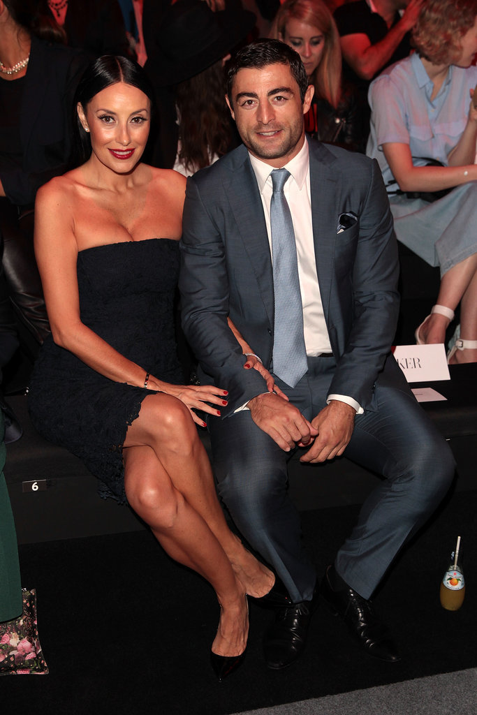 Terry Biviano and Anthony Minichiello at MBFWA Day One