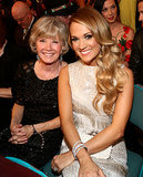 Carrie Underwood brought her mom, Carole, to the show.