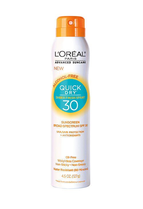 L'Oréal Advanced Suncare Quick Dry Sunscreen