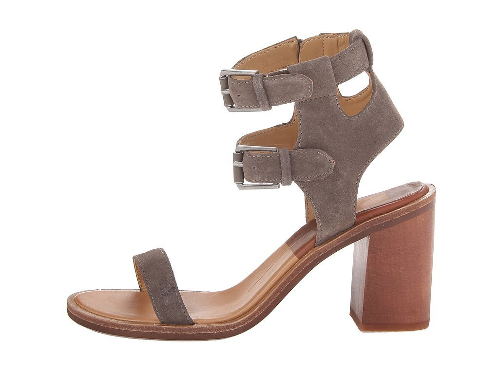 Dolce Vita Cymbal Block-Heel Double-Buckle Sandals