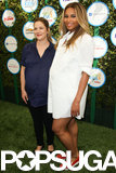Drew Barrymore and Ciara brought their baby bumps to the Safe Kids Day event in West Hollywood on Sunday.