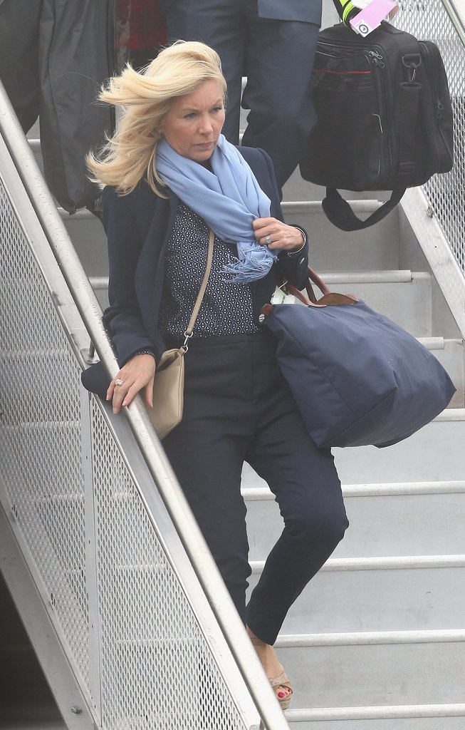 The hair stylist: Amanda Cook Tucker (pictured above) traveled to New Zealand with the royal family, after also joining them on their Diamond Jubilee Tour in 2012. Amanda styled Kate's hair for her appearance outside of the hospital following George's birth in July 2013 and also used to cut William and Harry's locks.  The personal assistant: Rebecca Deacon's personal assistant, Sophie Agnew, is along for the trip.