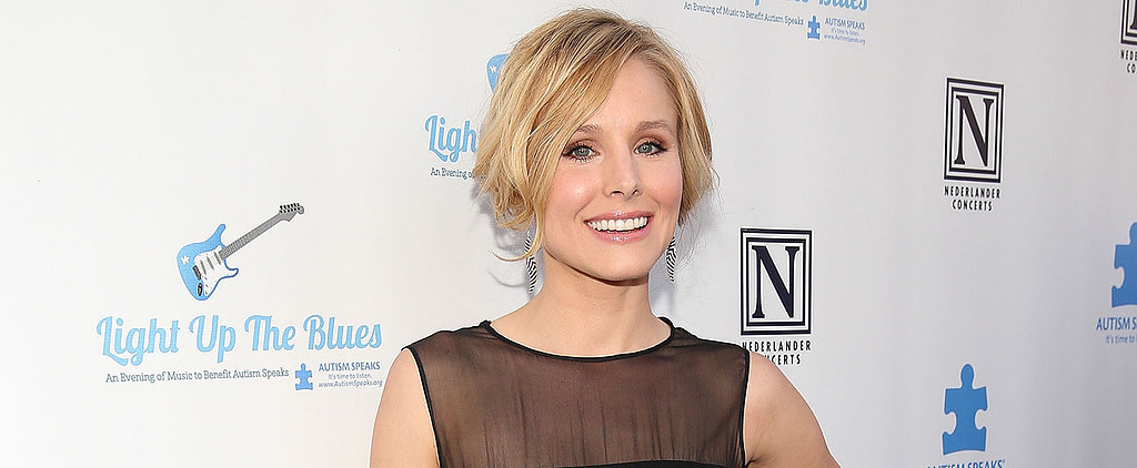 Why Kristen Bell's No-Stress Policy Is Music to Our Ears