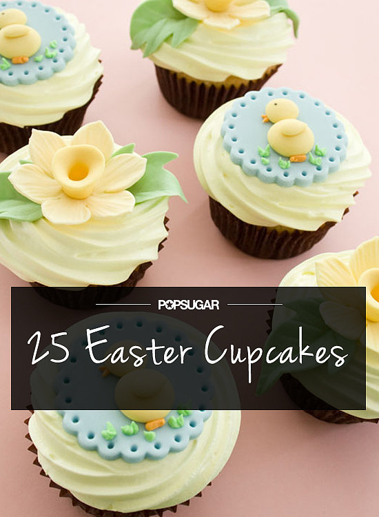 25 Adorable Easter Cupcakes For Little Chicks and Gents