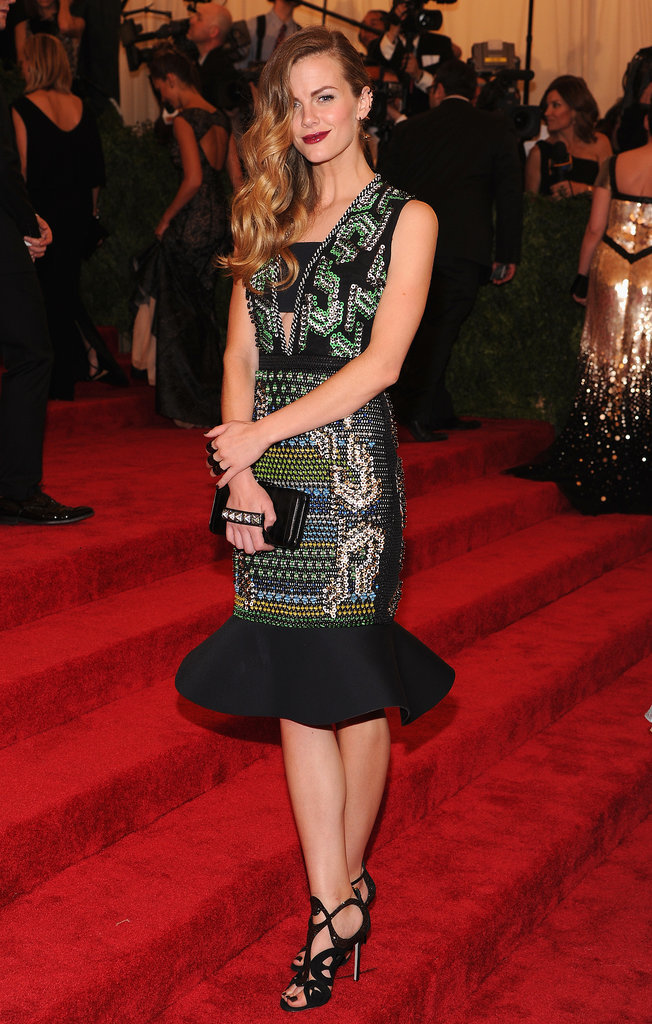 Brooklyn Decker in Peter Pilotto at 2013 Met Gala