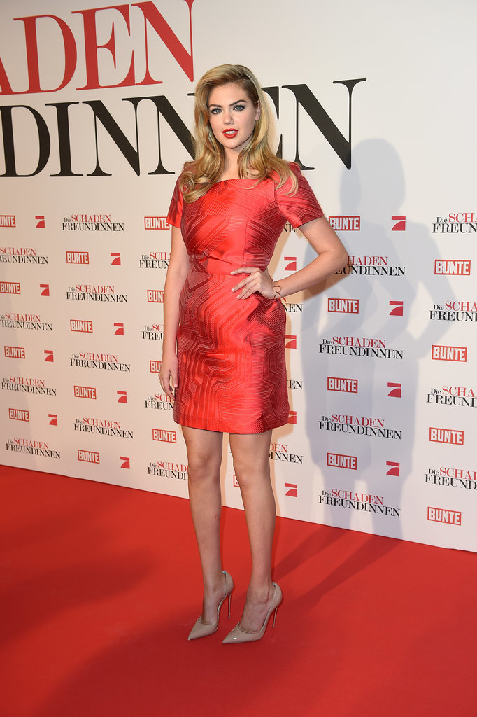 Kate Upton at the Munich Premiere of The Other Woman