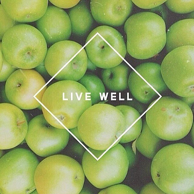 Eat fresh, clean and live well. Source: Instagram user detoxtips