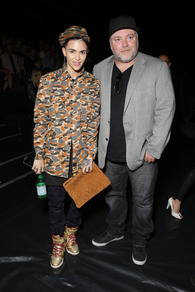 Ruby Rose and Kyle Sandilands at MBFWA Day Three