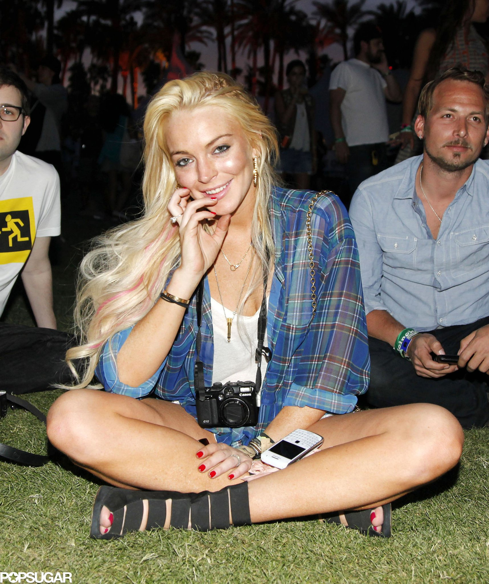 Lindsay Lohan watched a show in 2011.