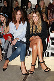 Tash Sefton and Elle Ferguson at MBFWA Day Five