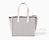 Zara perforated shopper ($60)