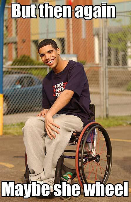 "Drake's Degrassi Character, ""Wheelchair Jimmy"""