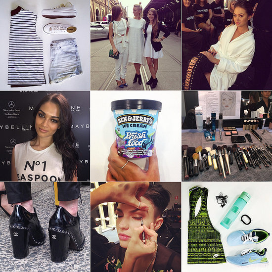 Celebrity, Fashion Week, Beauty Popsugar Instagram Pictures