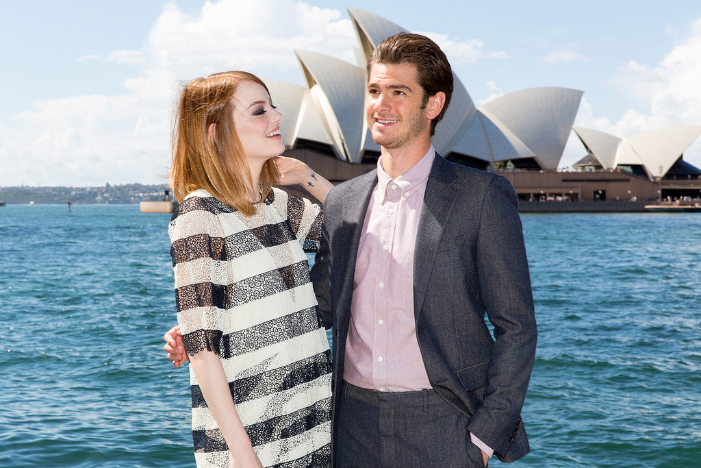 Andrew and Emma shared a sweet moment in Sydney in March 2014.
