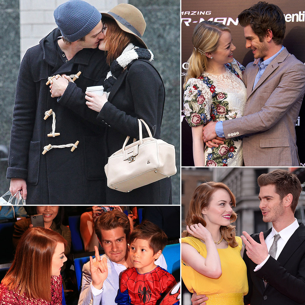 Emma Stone and Andrew Garfield's Most Adorable Moments