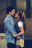 Cory and Topanga share denim-clad true love at its finest.