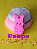 Peeps Play Dough