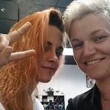 Kristen Stewart's Orange Hair