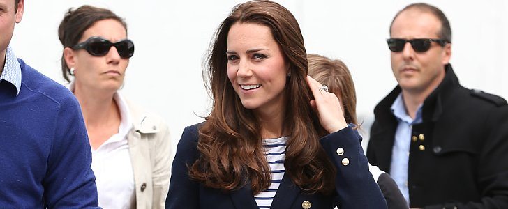 Kate Middleton's Blowout Touched Down in New Zealand
