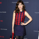 Zooey Deschanel Talks Zooey For Tommy at The London