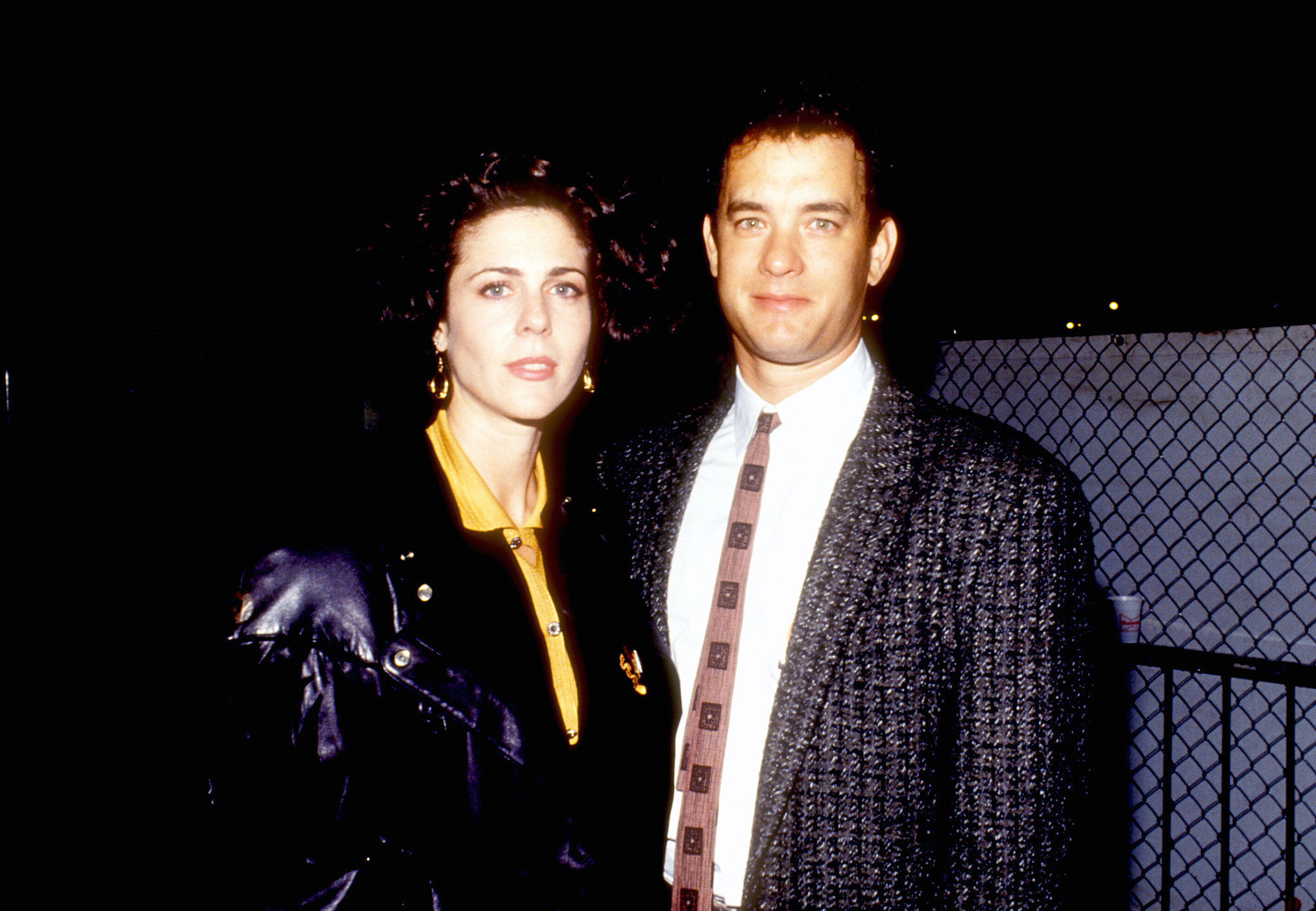 Tom Hanks and Rita Wilson, 1980